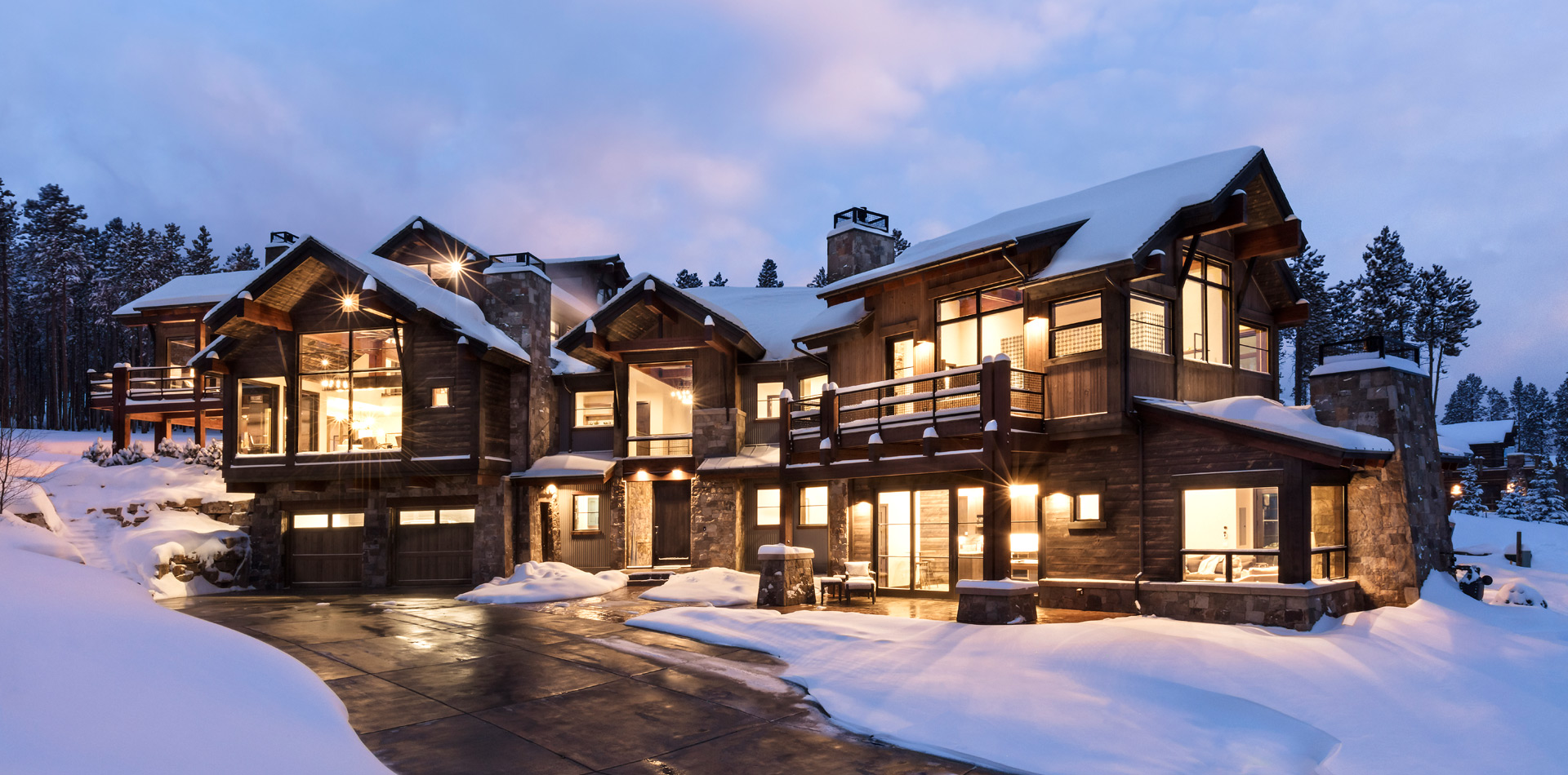 Luxury Mountain home in Breckenridge backing onto Breckenridge Ski Resort